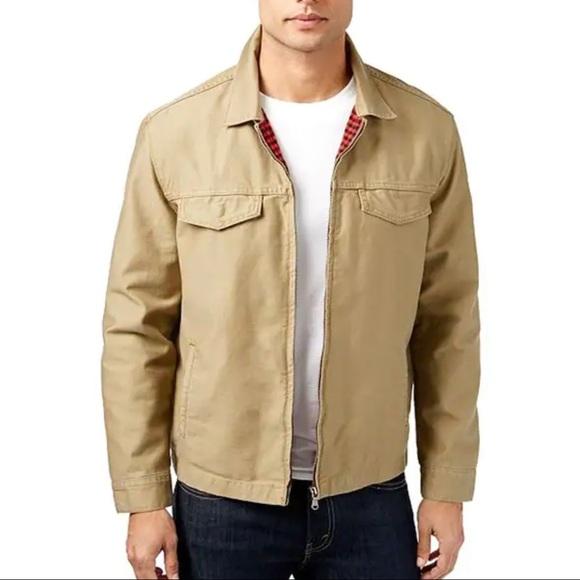 Levi's Khaki Tan Good Harrington Trucker Jacket S